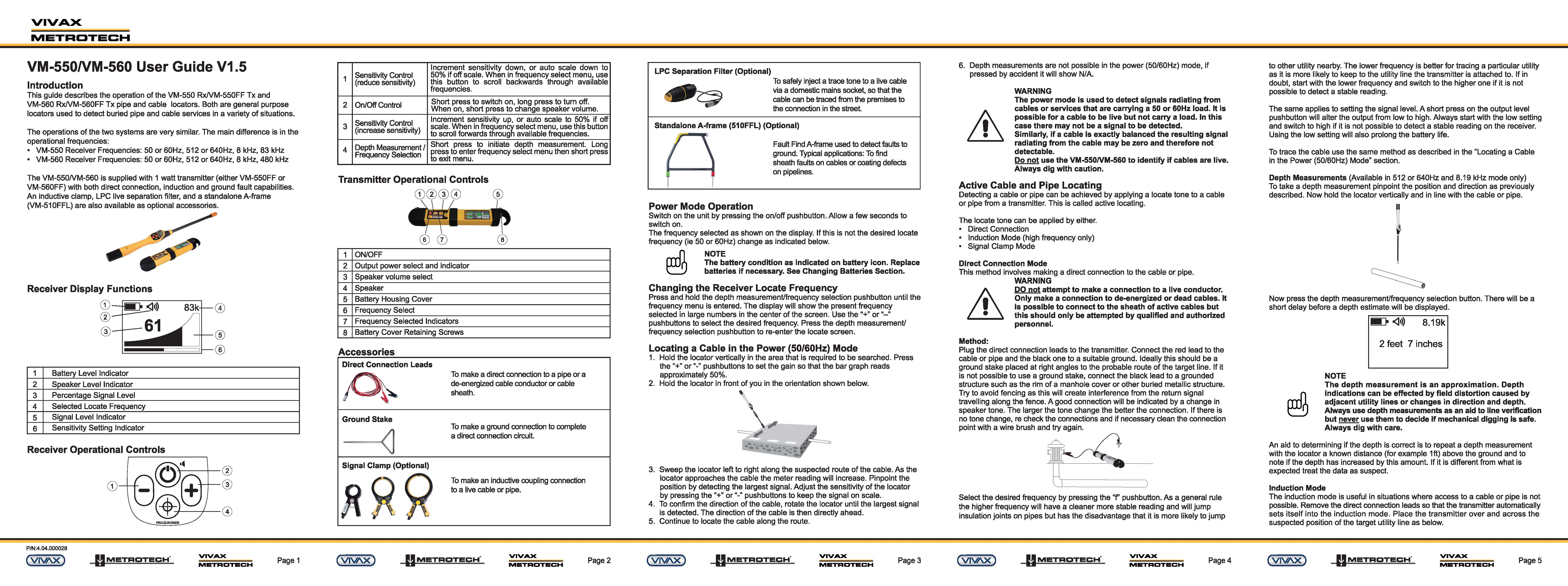 Underground Cable Detectors Price Pipe Locators For Sale Cctv Wiring Guide Download The Latest Product Manuals Pdfs