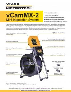 vCam MX2 | Vivax Metrotech